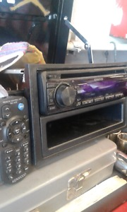 kenwood cd player with aux