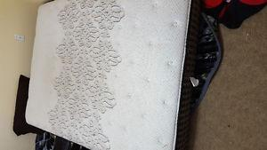 new never queen size used mattress $250 OBO
