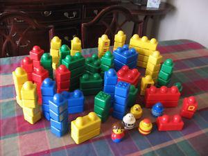 115 Piece Set of Lego Duplo Primo Building Blocks - $45