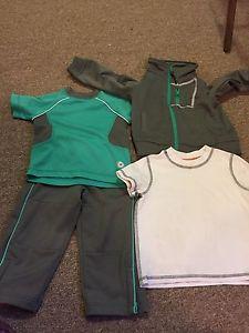 3 piece track suit + extra shirt