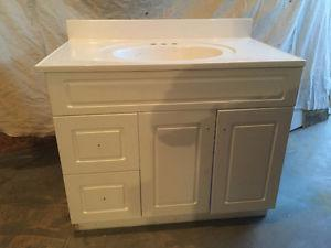 """36"""" vanith cabinet and sink"""