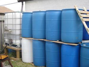 45 Gal Poly Drum Blue