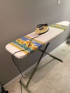 $5 - iron and ironing board