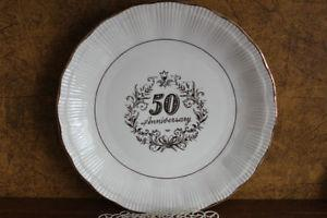 50th anniversary plate, made in poland