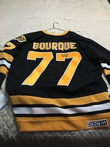 Authentic Ray Bourque autographed jersey