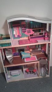 "Barbie Doll House 46"" tall"