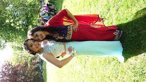 Blue 2 piece prom dress for sale!!