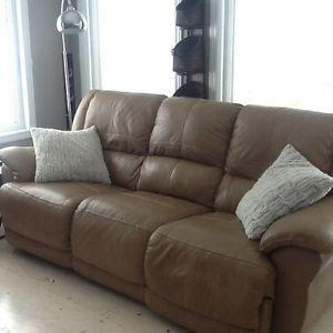 Electric recliner sofa and chair + rocker recliner chair