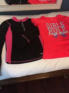 Girls athletic wear