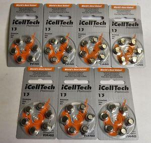 Hearing Aid Batteries - 42 Number 13 size Brand New!