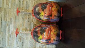 Heys Disney Lightning McQueen carry ons (2)