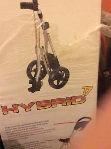 Hybrid T7 golf cart never used