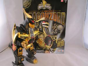 Limited Edition Power Rangers Legacy Black and Gold