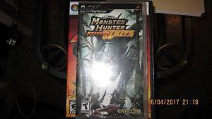 Monster Hunter Freedom Unite (brand new still in plastics)