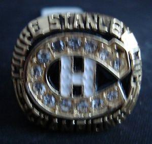 Montreal Canadiens/Patrick Roy Stanley Cup Replica Ring