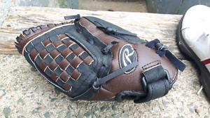 """New Rawlings Playmaker series 12"""" baseball glove leather"""