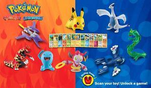 Pokemon McDonalds  Toy Set - New, Sealed, and Complete -