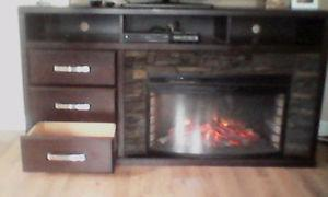 TV / Entertainment Stand / Electric Fireplace