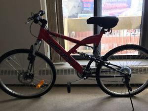 Unused Supercycle Vortex Mountain Bike