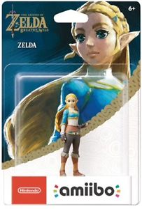 Wanted: Looking for the Breath of the Wild Zelda Amiibo