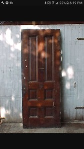 Wanted: old solid wood door to make into table