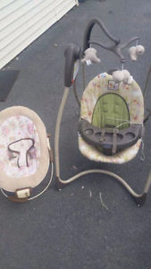Winnie the Pooh Baby Swing & Vibrating Chair! Delivery