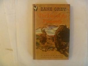 ZANE GREY - The Last Of The Plainsmen -  Paperback