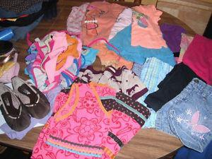 girls size 4-5 spring/summer clothes