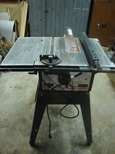 "10"" Sears Craftsman table saw"