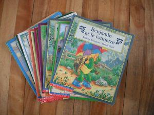 11 livres de Benjamin (collection de scholastic)