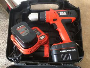 14.4 black and decker drill