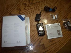 BRAND NEW! LG 231 Black LOCKED to Bell Mobility