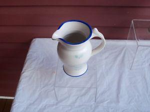 Beautiful Nova Scotia Pottery Pitcher--signed!