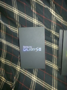 Brand new Samsung galaxy s 3