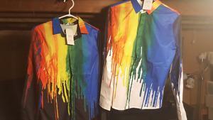 Brand new men's shirts. Tags still on. Will fit a medium