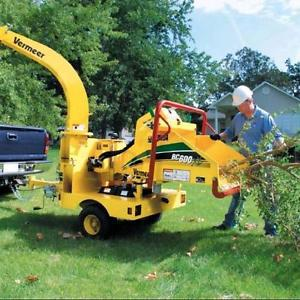 Brush Chipper Rentals! A To Z Rental Center