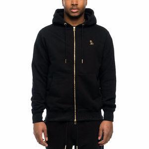 Drake OVO Logo Zip Hoody - Black - XXL, Fits Like XL