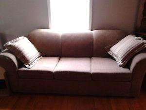 For Sale Dark Beige 3 Seat Couch Excellent Condition