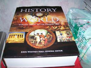 HISTORY OF THE WORLD Earliest Times To Present Day NEW BOOK.