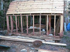 Have the roof off my old 10x12 baby barn