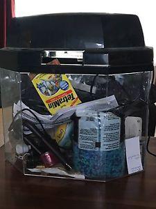 Hawkeye International Fish tank and accessories
