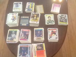 Hockey card lot o pee chee 620 card