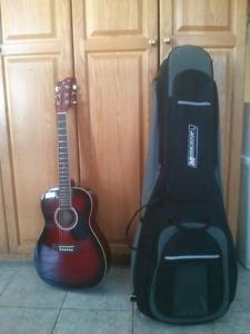 "Junior Guitar (brand ""Jay Turser"") with Case (brand"