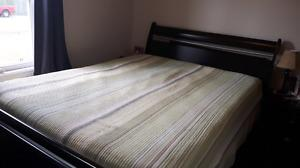 Queen Size Bed with 2 dressers for sale