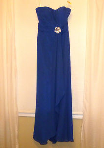Royal Blue Formal Maxi Dress