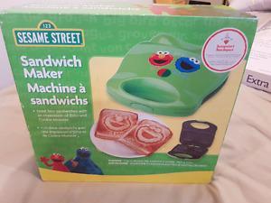 Sesame Street Sandwich Maker