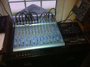 Speakers, Mixer, and Power Amps