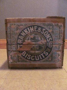 T. Rankine & Sons Biscuit crate 20 l x 13 w x 11 high $48