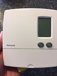 Two Honeywell programmable thermostat