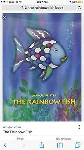 Wanted: Searching for the rainbow fish book